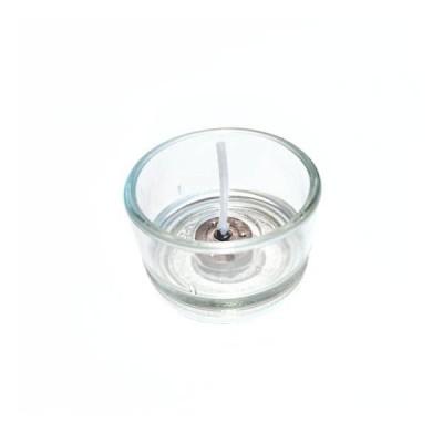 Glaskopp till värmeljus (theljus)